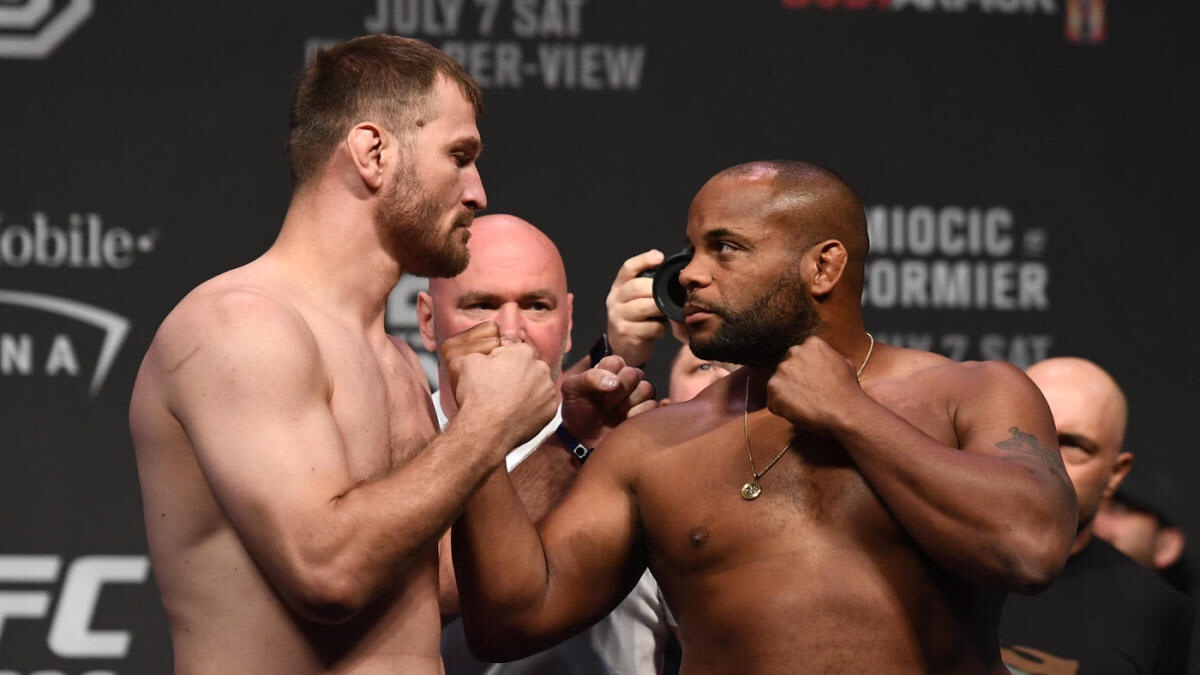 Daniel Cormier and Stipe Miocic state down