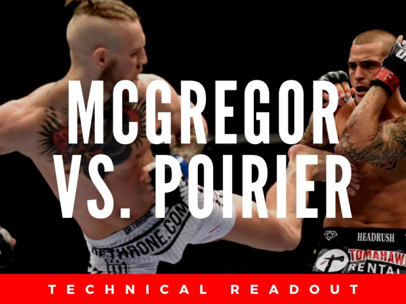 McGregor vs. Poirier breakdown