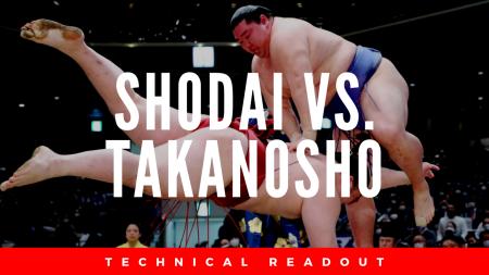 Shodai sumo breakdown